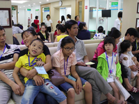 Free eye surgery for disadvantaged children