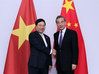 Foreign Ministers of Vietnam and China hold talks in Laos