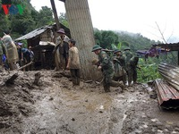Residents in Phong Tho District evacuated