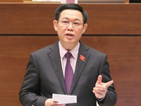 NA Q&A session with Deputy PM Vương Đình Huệ