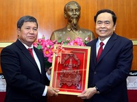 Vietnamese, Lao fronts bolster relations