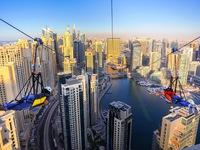Chóng mặt với đường trượt Zipline đô thị dài nhất thế giới