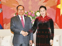 NA Chairwoman welcomes Cambodian Senate Vice President