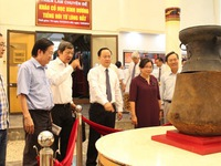 Exhibition spotlights archaeology in Binh Duong province