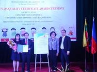 Da Nang's university earns AUN-QA certification for three programmes
