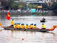 Hanoi open dragon boat race 2019 kicks off
