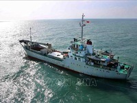 Tet gifts, supplies arrive for soldiers on Truong Sa archipelago