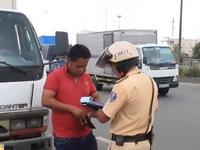 Xử lý hơn 300.000 phương tiện vi phạm trật tự an toàn giao thông đợt cao điểm