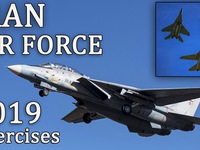 Iran tập trận không quân