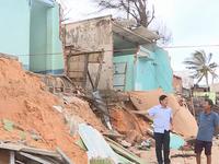 Hỗ trợ Bình Thuận 180 tỷ đồng khắc phục sạt lở bờ biển