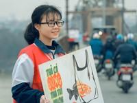 Đường Táo Quân: Giới trẻ lan tỏa thông điệp bảo vệ môi trường