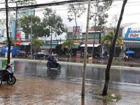 Trưa 4/1, mưa ở Trung Bộ sẽ giảm dần