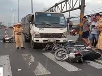 TP.HCM: Liên tiếp xảy ra các vụ tai nạn giao thông do xe tải