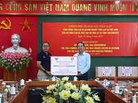 Thailand supports disaster victims in Thai Nguyen province