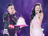 Đông Nhi bất ngờ được tổ chức sinh nhật ngay trên sân khấu Hà Nội
