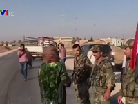 Quân đội Syria tiến vào thị trấn giáp giới Thổ Nhĩ Kỳ
