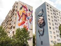 Những bức tranh tường ấn tượng tại Berlin, Đức
