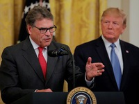Tổng thống Donald Trump xác nhận Bộ trưởng Năng lượng Mỹ từ chức
