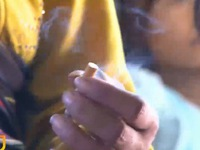 40#phantram trẻ em thường xuyên tiếp xúc với thuốc lá thụ động