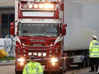 Phối hợp điều tra vụ 39 thi thể trong container tại Anh