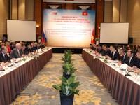 Họp Ủy ban liên Chính phủ Việt Nam - Nga