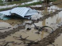 Quảng Nam: Hơn 65 nhà dân bị tốc mái do mưa lốc