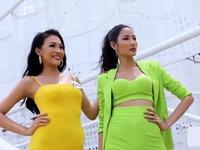 Tôi là Hoa hậu Hoàn vũ Việt Nam: Không 'núp bóng' chị, em gái Hoàng Thùy được khen độc lập