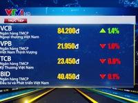 Thị trường chứng khoán trong nước giảm nhẹ phiên đầu tuần