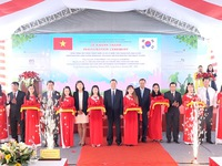 Wastewater treatment plant inaugurated in Long Xuyen city