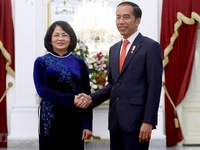 Vice President attends inauguration of Indonesian leaders