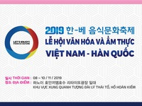 Vietnam-Korea culture-culinary festival 2019 opens in Hanoi