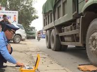 Phát hiện hơn 1.500 xe chở quá tải trong tháng 10