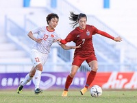 Vietnam's final squad for SEA Games women's football announced