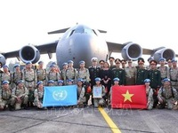 Send-off ceremony held for second group of peacekeeping field hospital No. 2 staff