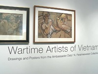 Art exhibition on Vietnam's Wartime Artists opens in Singapore