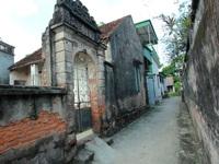 European architecture preserved in Vietnamese ancient village