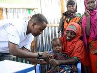 LHQ phát động chiến dịch tiêm phòng sởi và bại liệt cho trẻ em Somalia