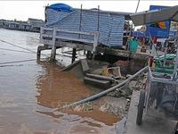 Cà Mau ban bố tình huống khẩn cấp sạt lở bờ biển Đông