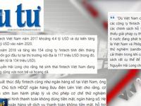 """Fintech Việt Nam phát triển mạnh nhưng… 'hoang dã"""""""