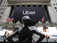 Cổ phiếu Uber giảm xuống mức thấp kỷ lục