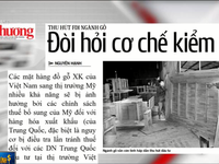 Vốn đầu tư trực tiếp nước ngoài FDI vào ngành gỗ Việt Nam tăng trưởng 216#phantram