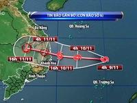 Bão số 6 là cơn bão có diễn biến rất phức tạp nhất từ đầu mùa đến nay