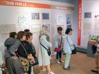 Exhibition on Thang Long Imperial Citadel opens