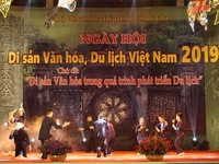 2019 Cultural Heritage and Tourism Festival opens in Hanoi
