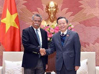 NA Vice Chairman hosts leader of Asian Productivity Organisation