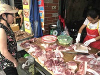 Giá thịt lợn hơi tiếp tục tăng cao trên thị trường