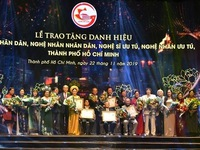 HCM City honours artists, artisans awarded with State titles