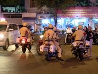 TP.HCM ra quân đảm bảo giao thông ngày cận Tết