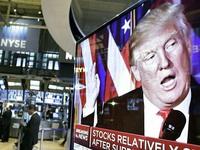 Chứng khoán Mỹ tăng mạnh dưới thời Tổng thống Trump