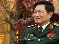 Vietnamese People's Army promotes heroic tradition in defending the Fatherland: Defence Minister